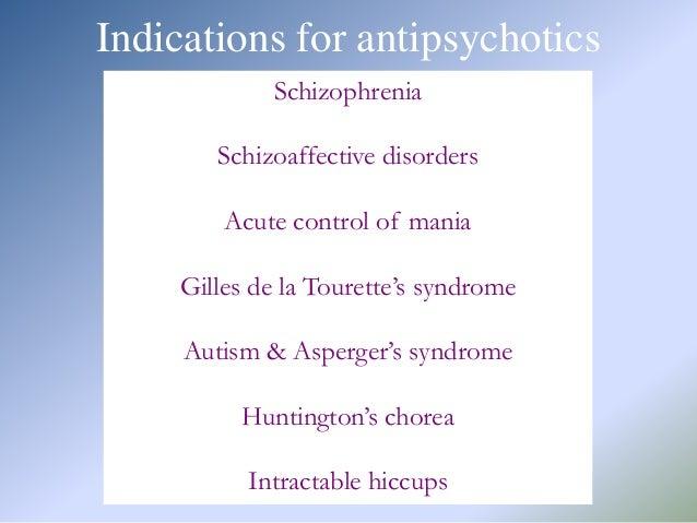 Pharmacotherapy Of Antipsychotics