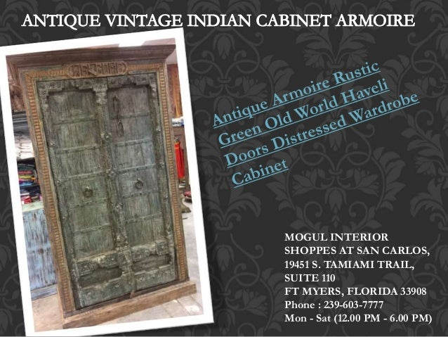 ... Cabinet Storage Chest; 4. MOGUL INTERIOR SHOPPES AT SAN CARLOS ...