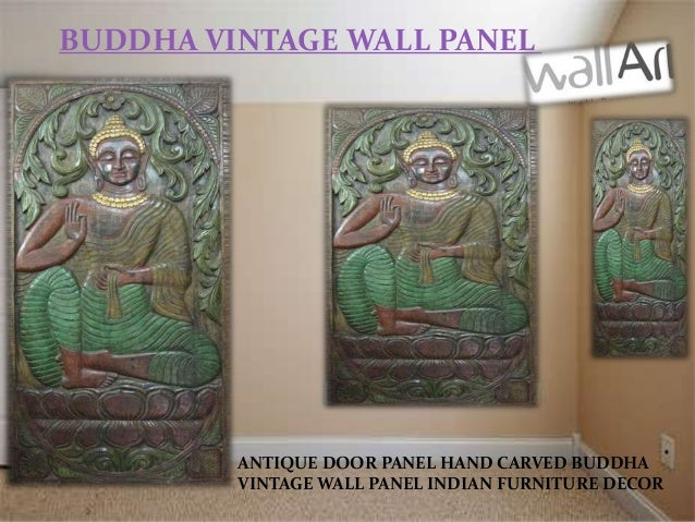 Antique Vintage Indian Wall Decor Panels