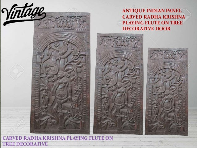 ... DECORATIVE; 4. Krishna Carved Door Wall ... Part 71