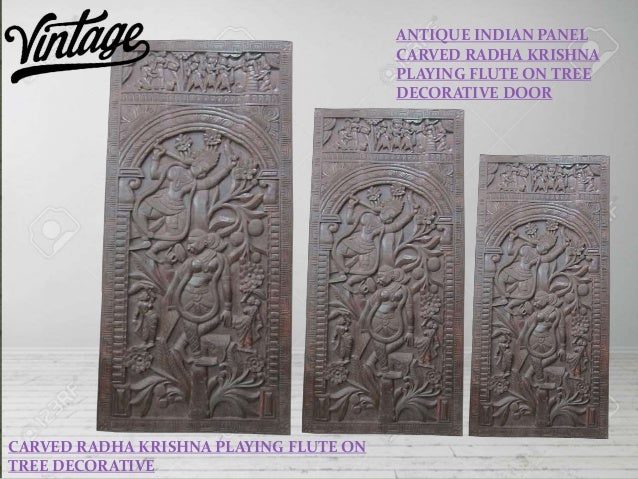 Antique vintage indian wall decor panels by Mogulinterior