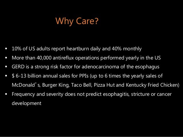 Gastroesophageal Reflux Disease and Antireflux Surgery Slide 3