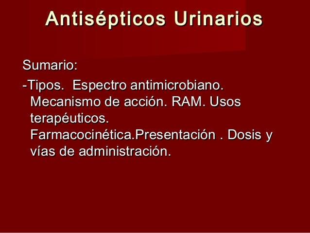 ANTISEPTICOS URINARIOS PDF DOWNLOAD