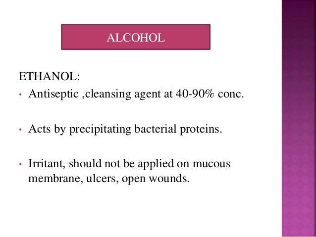 Antiseptics And Disinfectants
