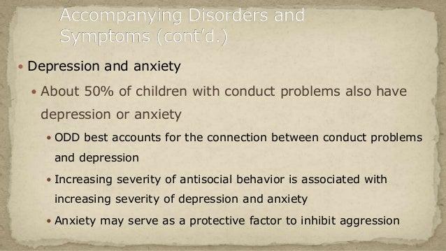 Antisocial behavior in children