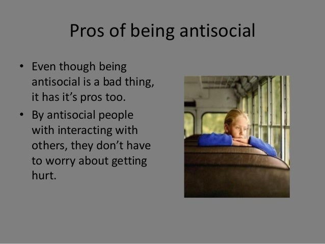 how to stop being antisocial