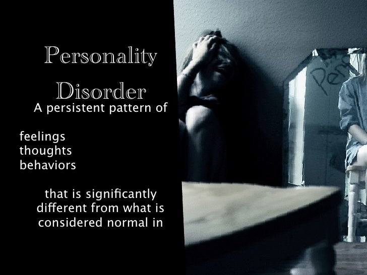 """anti social personality disorder 2 essay Compare and contrast three clusters of personality disorders personality disorders cluster b: symptoms, diagnostic criteria and prognosis presenters script introduction """"personality disorders are becoming more common across the country due to an increase in mental health understanding most of these disorders have several."""
