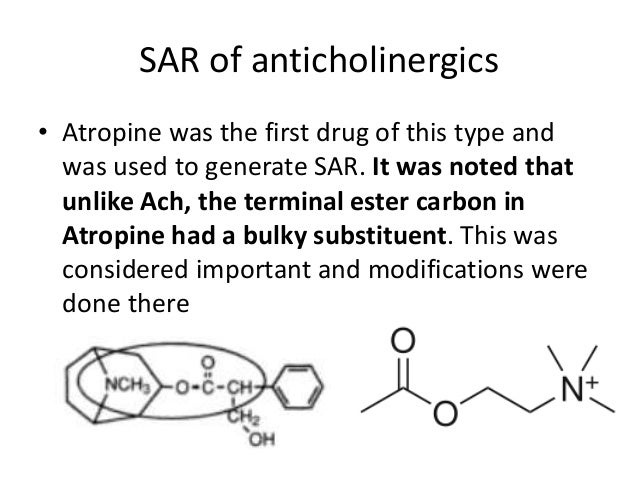 structure activity relationship of cholinergic drugs and alzheimers