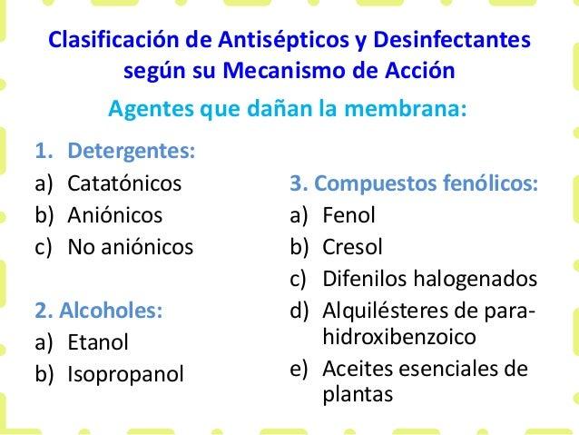 ANTISEPTICOS CLASIFICACION PDF DOWNLOAD