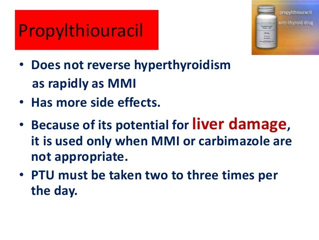 Antithyroid Drugs And Liver Thyroalex