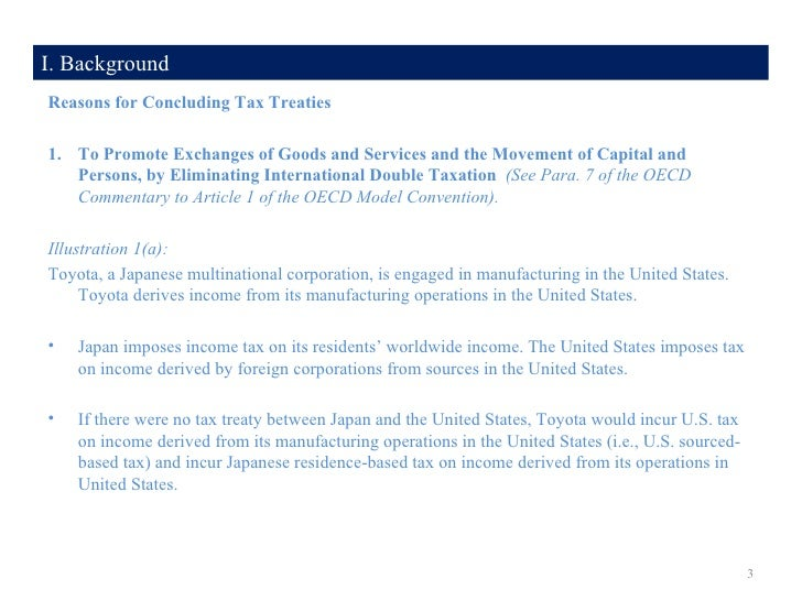 Anti Treaty Shopping A Comparative Analysis Of The Us And Oecd Mod
