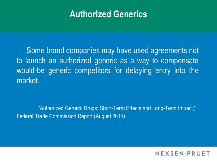 FTC Proposes Study of Competitive Impacts of Authorized ...