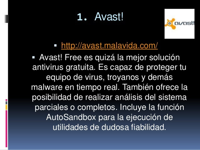 Antivirus informatica Slide 2