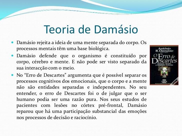 António Damásio   Slide 2