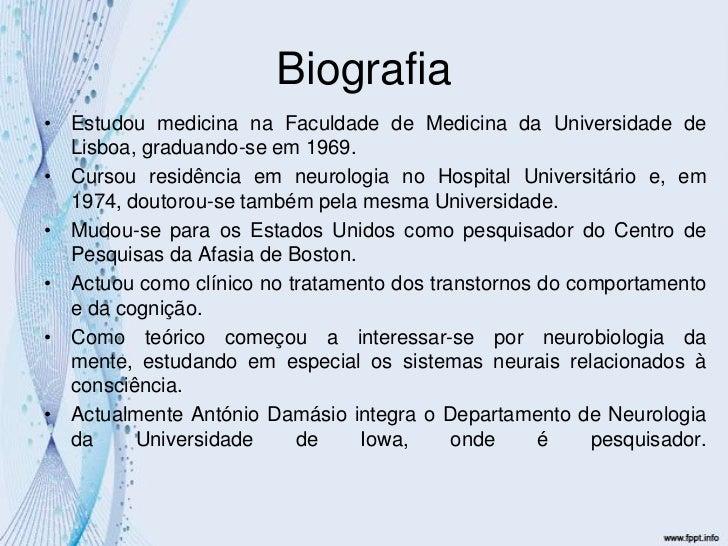 Biografia<br />Estudou medicina na Faculdade de Medicina da Universidade de Lisboa, graduando-se em 1969.<br />Cursou resi...