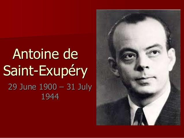 Image result for Antoine de Saint-Exupéry