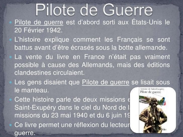  Pilote de guerre est d'abord sorti aux États-Unis le     20 Février 1942.     L'histoire explique comment les Français s...