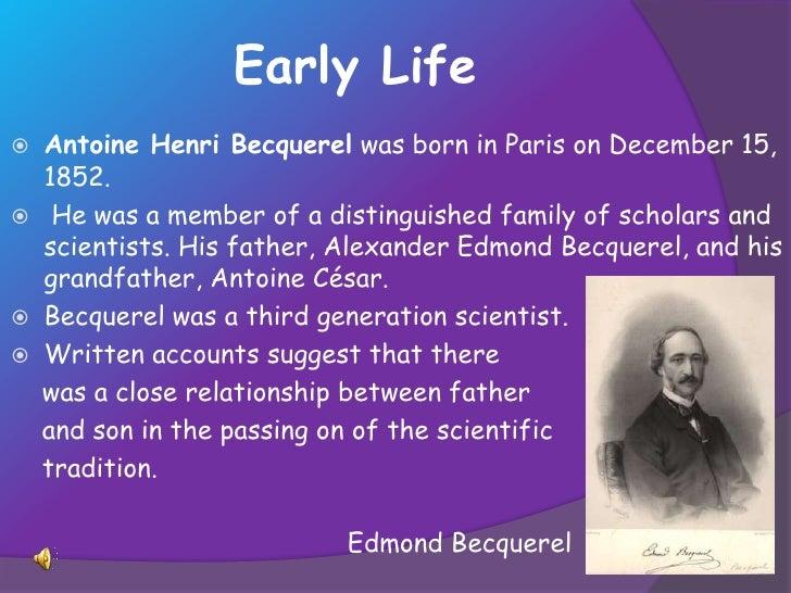 becquerel henri