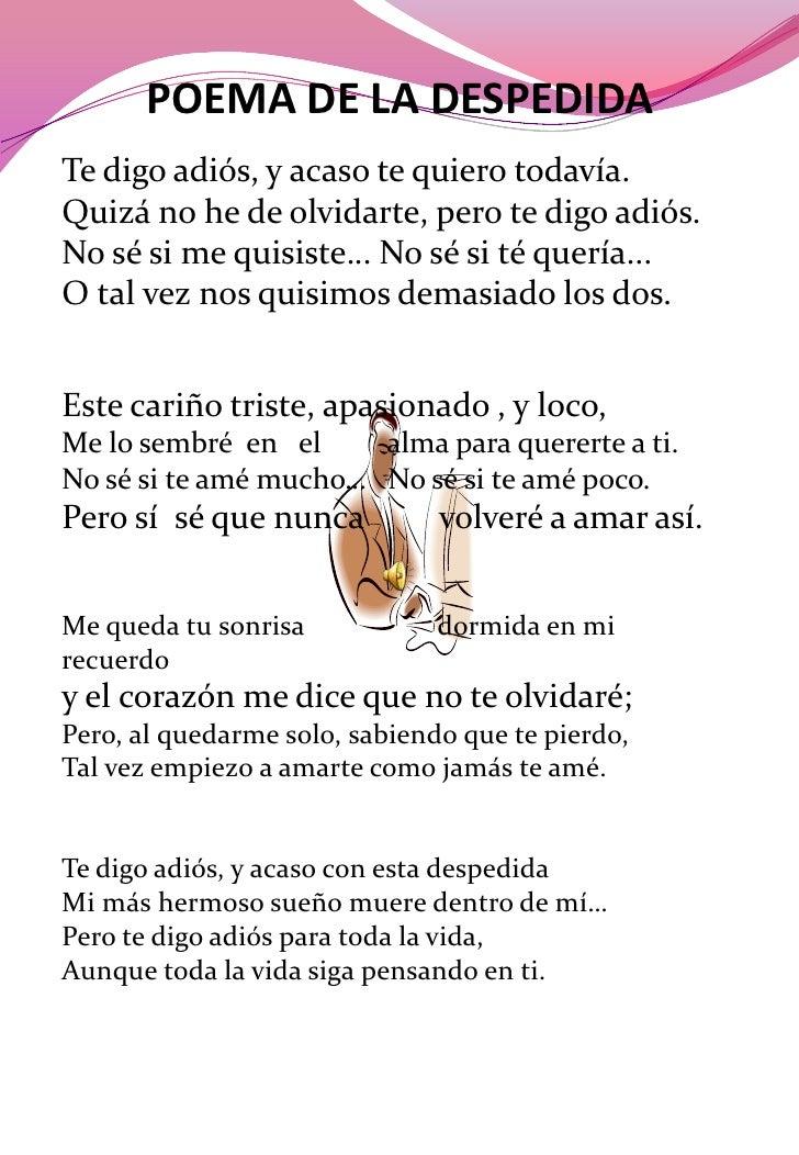 Antolog a po tica for Cancion adios jardin querido