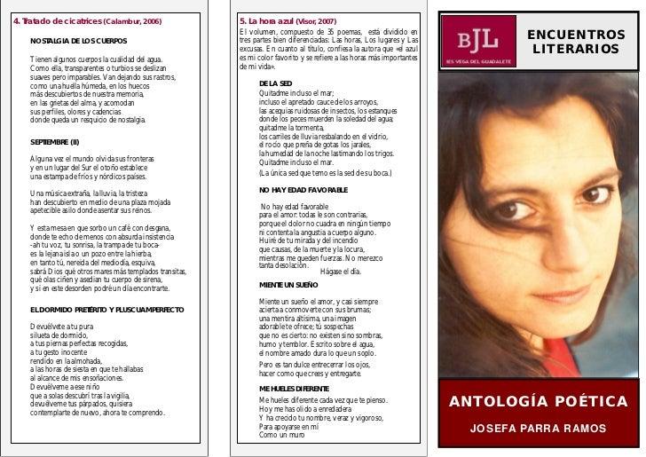 4. Tratado de cicatrices (Calambur, 2006)                 5. La hora azul (Visor, 2007)                                   ...