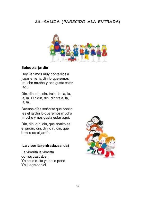 Antologia 1 b preescolar for Cancion para saludar al jardin de infantes