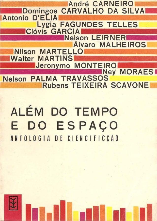 Antologia de autores brasileiros - alem do tempo e do espaço Slide 1