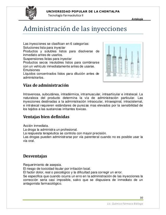 Tipos de suspensiones tecnologia farmaceutica