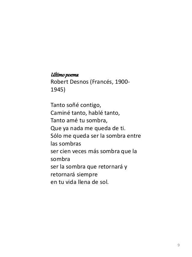 Ejemplo De Antología Y Movimiento Literario