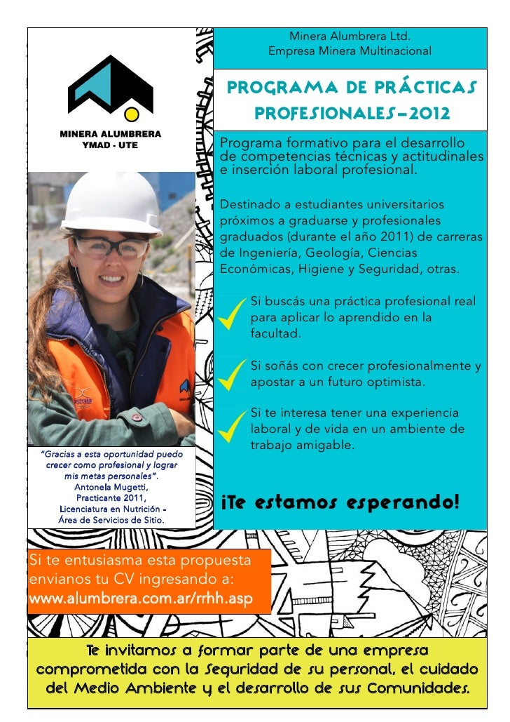 Minera Alumbrera Ltd.                                             Empresa Minera Multinacional                            ...