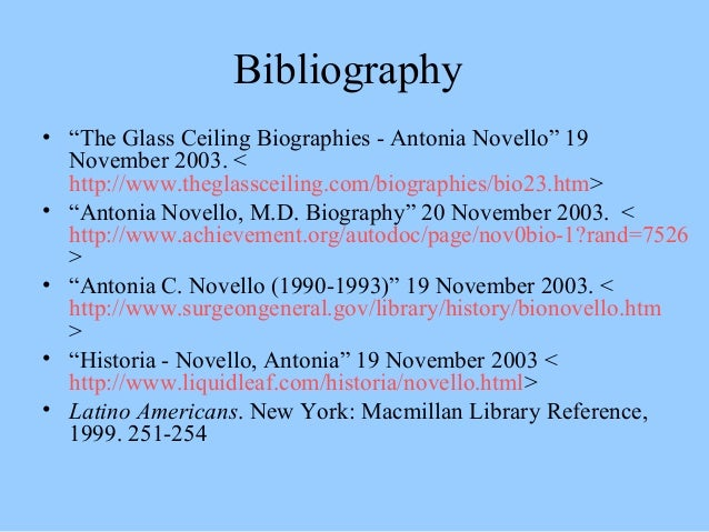 Antonia Novello Accomplishments