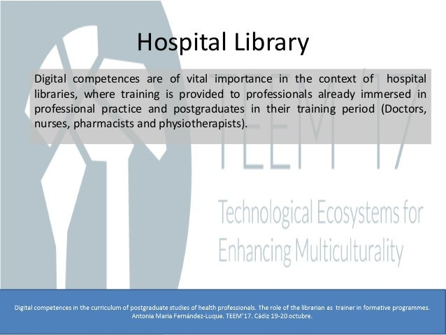 digital competences in the curriculum of postgraduate studies of heal u2026