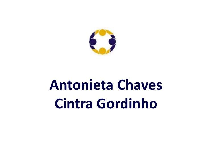 Antonieta Chaves Cintra Gordinho<br />