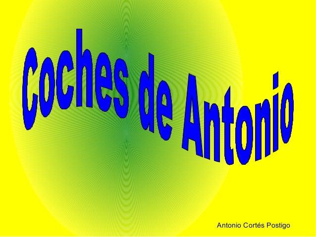Antonio Cortés Postigo