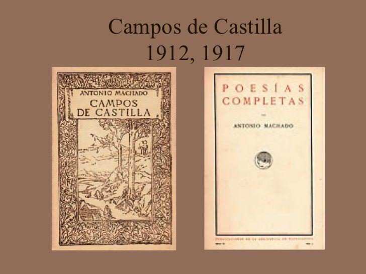 Campos de Castilla 1912, 1917