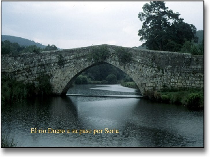 El río Duero a su paso por Soria