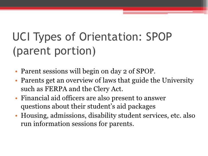 Orientation Slideshow