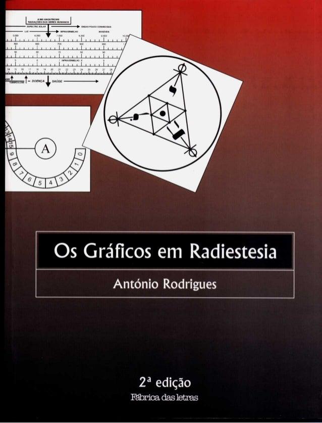 Os Gráficos em Radiestesi a António Rodrigues 2ª edição Fábrica das letras