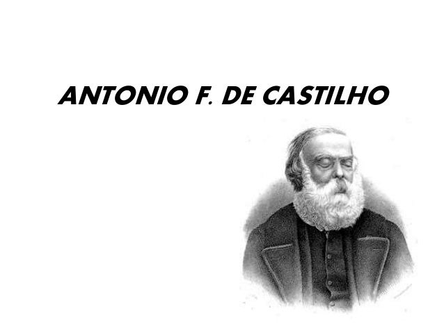 ANTONIO F. DE CASTILHO