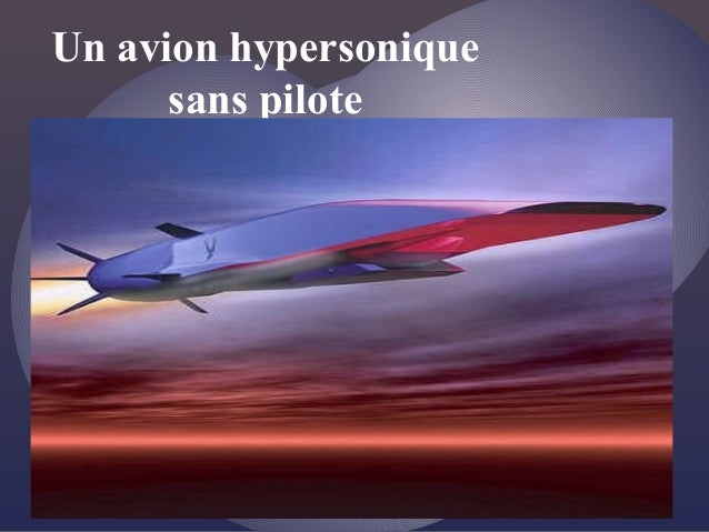 Un avion hypersonique sans pilote