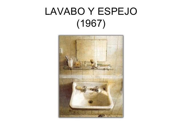 El Lavabo De Antonio Lopez.Antonio Lopez