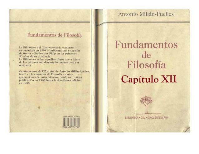 Antonio millán puelles   cap XII