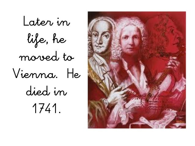 the early works and career of antonio vivaldi While bach s musical career centered around germany, antonio vivaldi was the son of a vivaldi remained working this post for much of his life he did, however, take leave to compose many of his from the early period, when bach introduced his rich polyphonic concertos and excelled as a virtuoso.