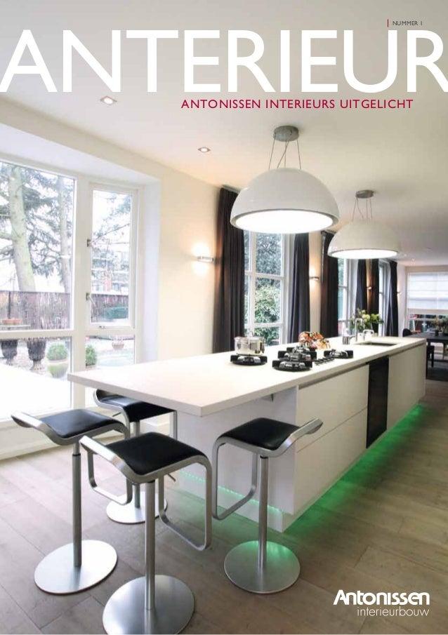MEER WETEN? www.antonissen.nl Op onze website vindt u aanvullende informatie over ons bedrijf en onze producten. Tevens do...