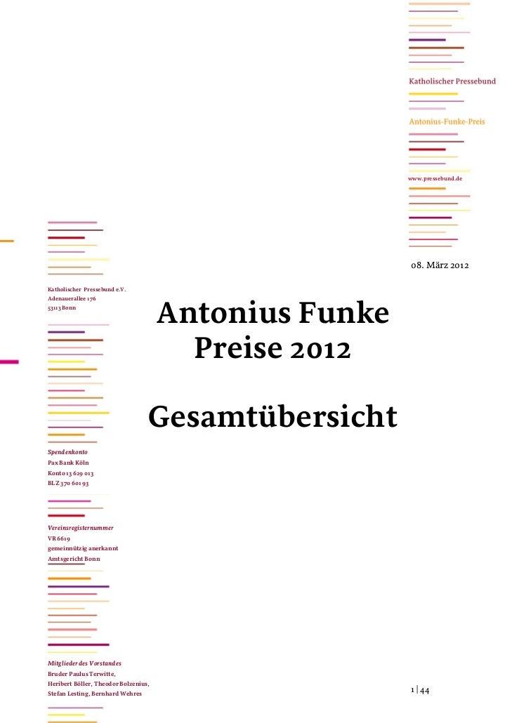 www.pressebund.de                                                       08. März 2012Katholischer Pressebund e.V.Adenauera...