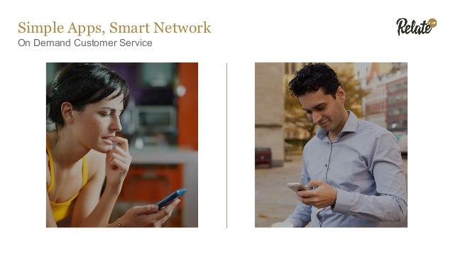 Simple Apps, Smart Network On Demand Customer Service