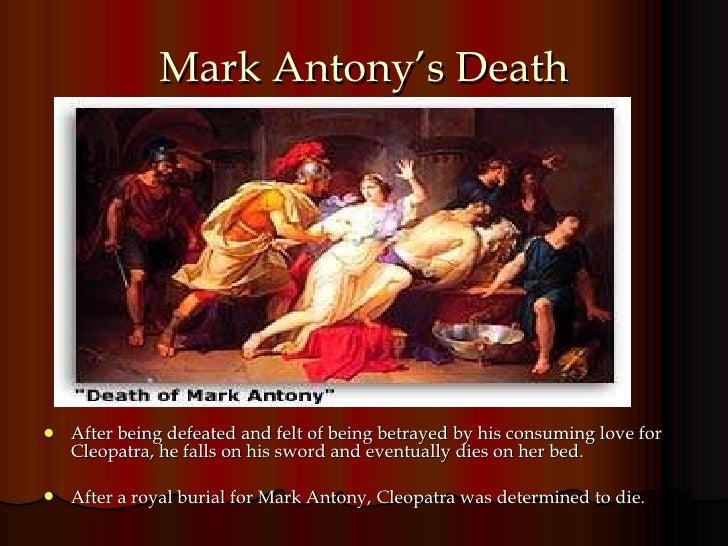Who killed marc antony