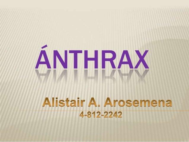 ÁNTHRAX