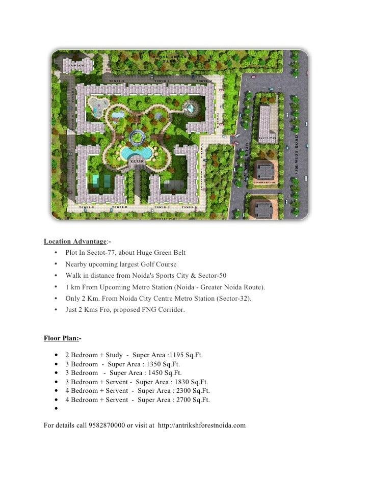 Antriksh Forest Noida-9582870000 Slide 3