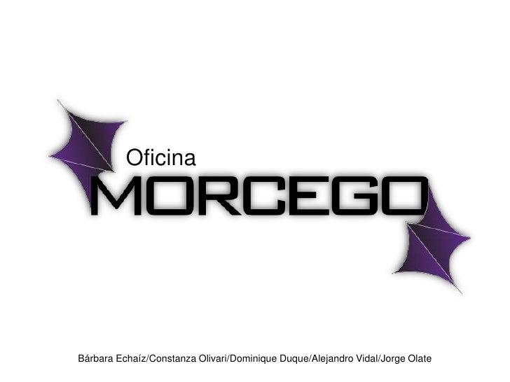 Oficina<br />Bárbara Echaíz/Constanza Olivari/Dominique Duque/Alejandro Vidal/Jorge Olate<br />