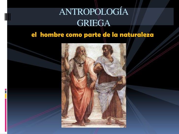 Antropología filosófica Slide 2